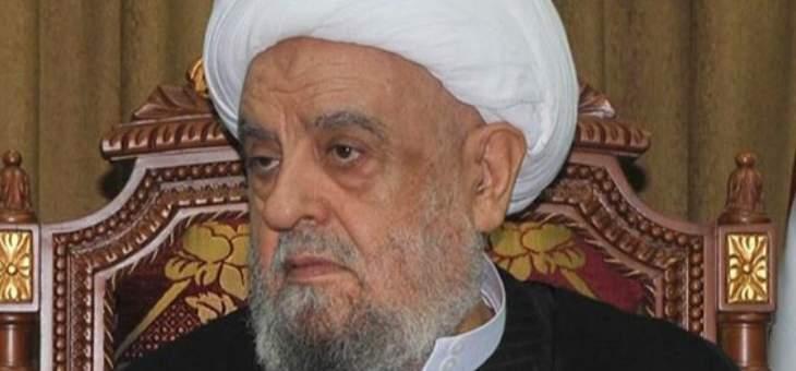 قبلان استنكر الاعتداءات الارهابية التي استهدفت مواكب الامام الحسين في نيجيريا وباكستان