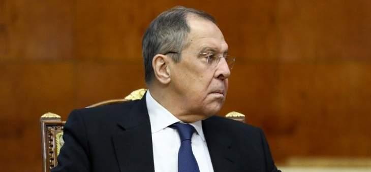 لافروف: لقاءاتنا بأرمينيا ركزت على ضمان التنفيذ الكامل للبيان الثلاثي بشأن قره باغ