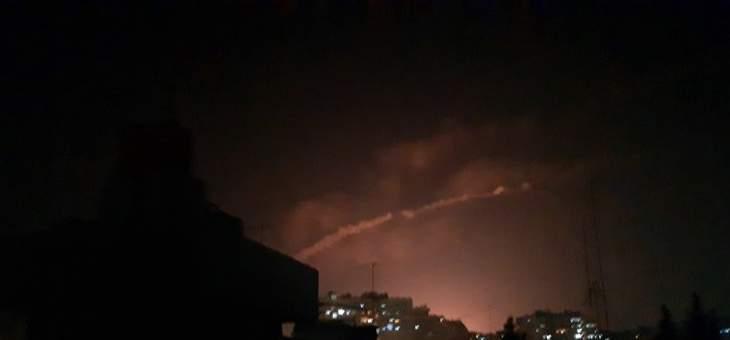 سانا: الدفاعات الجوية السورية تصدت لعدوان اسرائيلي بالصواريخ وسقوط إصابات بين المدنيين