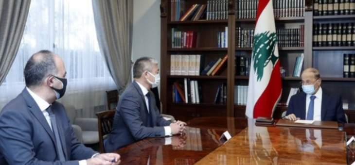 الرئيس عون: لبنان وصل إلى مرحلة الإنهاك نتيجة تداعيات النزوح السوري