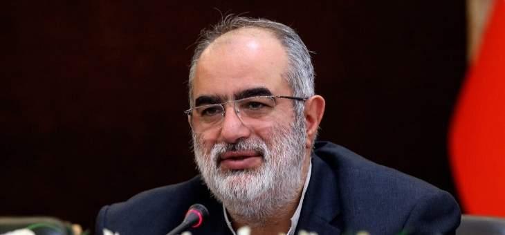 مستشار روحاني: سياسة الضغوط القصوى تطوي أيامها الأخيرة
