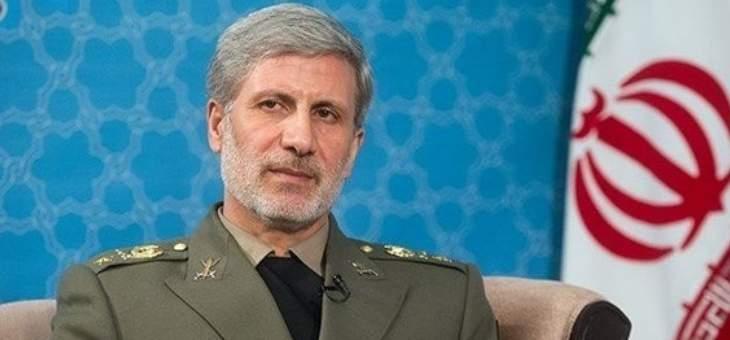 وزير دفاع إيران: وصلنا الى مرحلة باتت فيها جميع صواريخنا دقيقة جداً