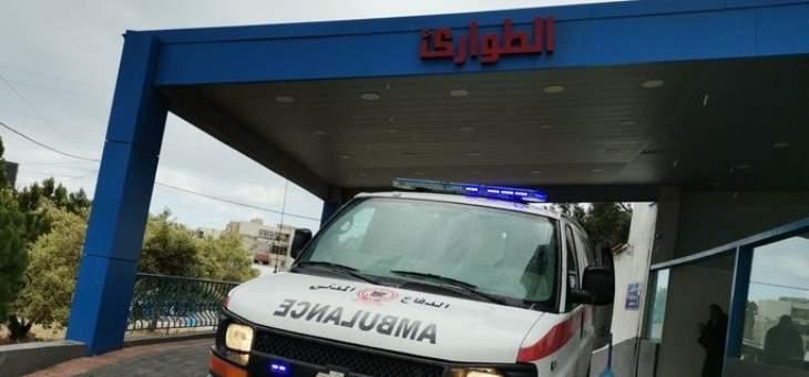 جرح طفل جراء حادث صدم في المساكن - صور