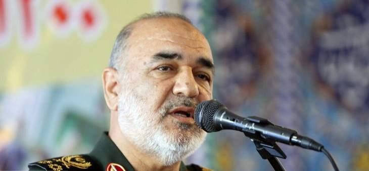 قائد الحرس الثوري الإيراني: الأعداء أيقنوا أن التهديد العسكري ضد إيران لا يجدي نفعا