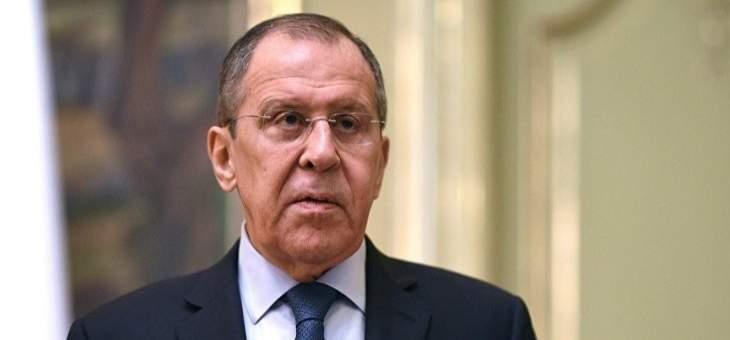 لافروف: مؤتمر برلين كان مفيدا لكننا لم ننجح بإطلاق حوار جدي ودائم بين جانبي النزاع بليبيا