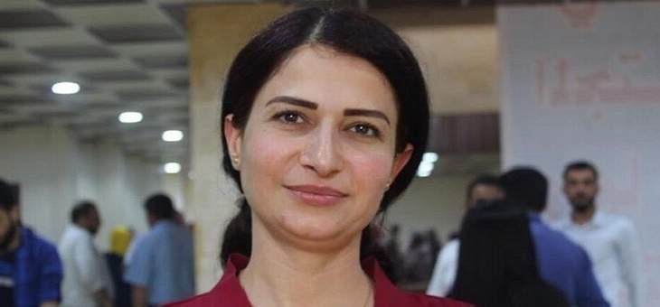 """مقتل الأمينة العامة لـ""""حزب سوريا المستقبل"""" وسط معارك """"نبع السلام"""""""