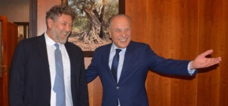 افرام: متفاؤلون بأن تكون طرابلس بوابة المشرق العربي