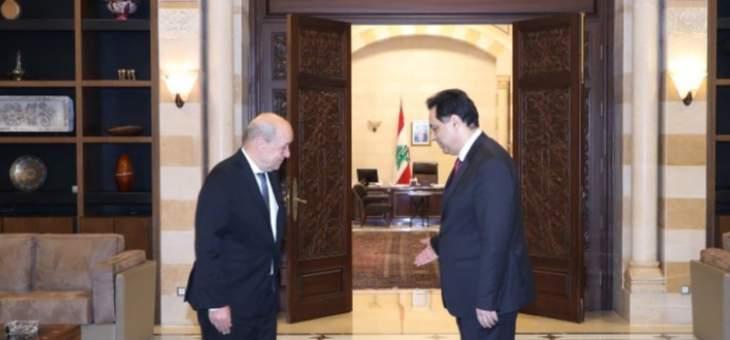 الجمهورية: دبلوماسيون أوروبيون أبلغوا جهات لبنانية أن دياب إرتكب خطأ كبيرًا مع لودريان