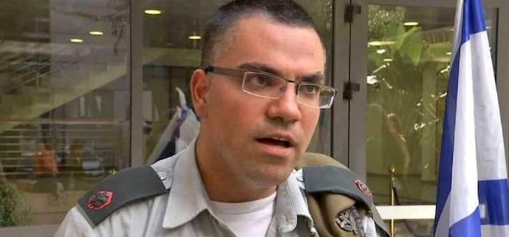 أدرعي: طائرة عسكرية هاجمت عنصرين من منظومة إطلاق الصواريخ التابعة للجهاد الإسلامي بغزة