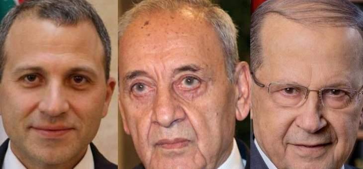 اتفاق بين عون وبري ونصرالله وباسيل على اجراءات سريعة