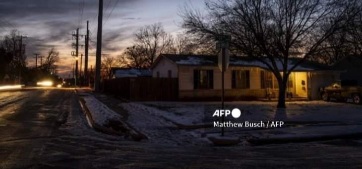 30 ألف شخص في تكساس من دون كهرباء بسبب العاصفة القطبية