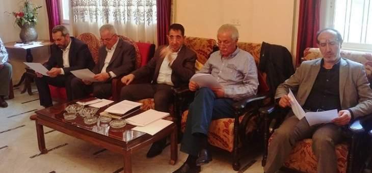 تكتل نواب بعلبك الهرمل دعا الحكومة الى تنفيذ البرامج التنموية للمنطقة