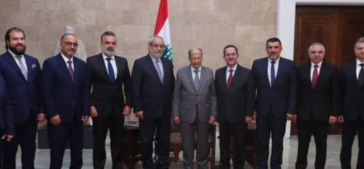 الرئيس عون أمام وفد الطاشناق: على الجميع تحمل مسؤولياته والالتزام بمرحلة التقشف
