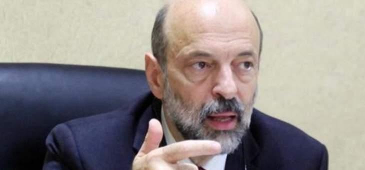 الرزاز: تبلغنا بصدور حكم قضائي يقضي بوقف إضراب المعلمين