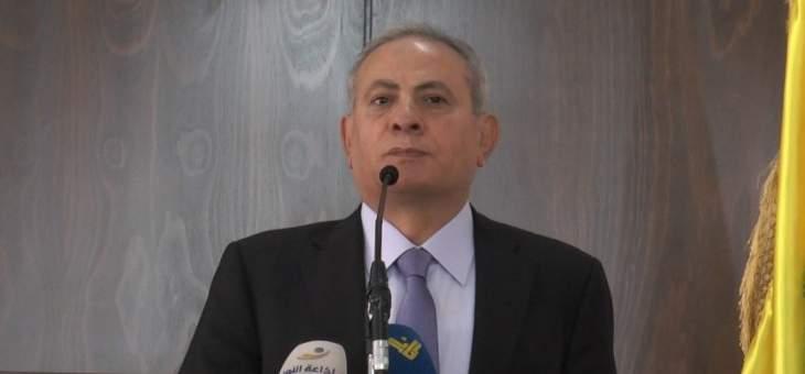 حميد: ما نريده هو المشاركة الحقيقية في الانتخابات بعيدًا من الطائفية والمذهبية والمناطقية