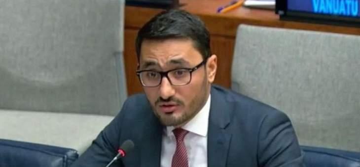 مسؤول سعودي: حقوق الشعب الفلسطيني ثابتة وراسخة لاتنقضي بمرور الزمن ولا تسقط بالتقادم
