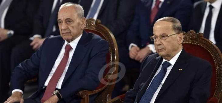 الشرق الاوسط: حزب الله حاول اقناع عون وباسيل بالسير بمبادرة بري لكنه فشل