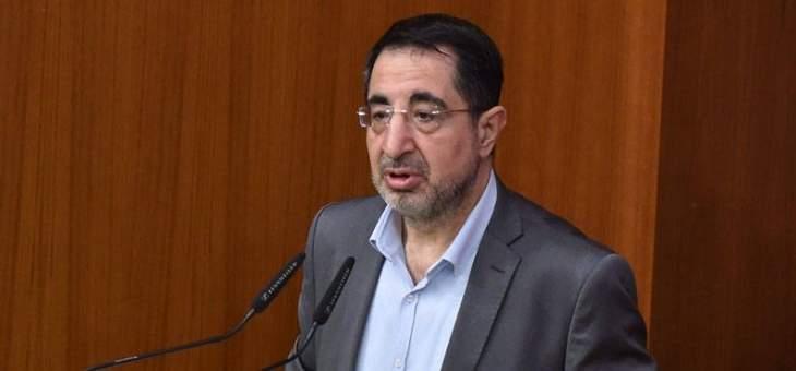 الحاج حسن: الاتصالات جارية ولم تصل بعد لنتيجة ونريد تشكيل حكومة وحدة وطنية ولم نصل للانهيار