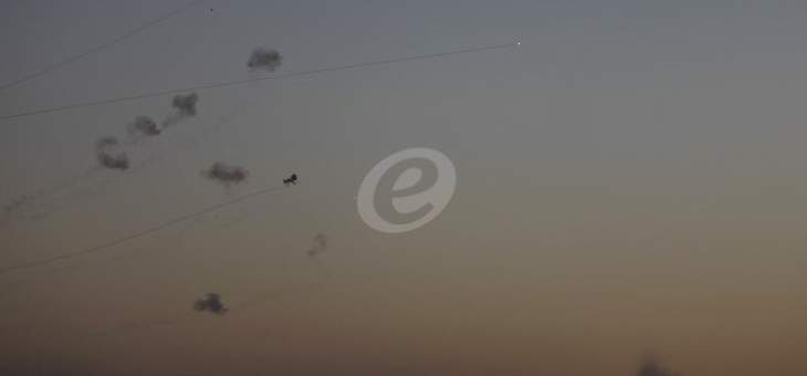 إطلاق دفعة جديدة من الصواريخ من قطاع غزة باتجاه مدينة أسدود