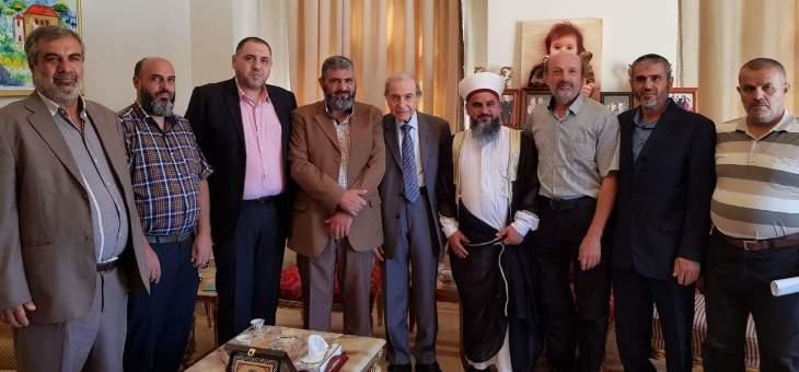 الخليل شدد على دور الجماعة الإسلامية في الحفاظ على الوحدة الوطنية