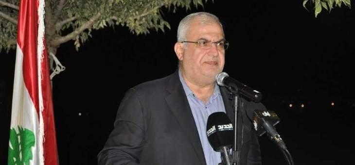 محمد رعد: ما لم يأخذه عدونا بحربين لن نعطيه إياه بالإقتصاد