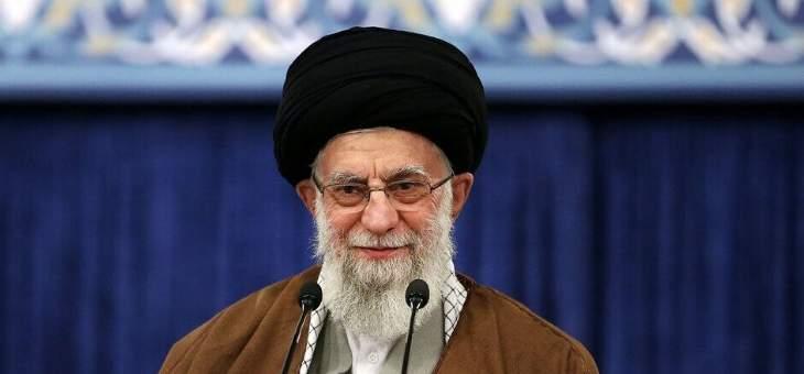 الخامنئي: الجيش الإيراني حاضر في الساحة ومستعد لتأدية مهامه