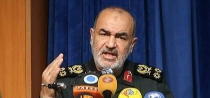 قائد الحرس الثوري الإيراني: نريد أن نرمي بالعقوبات الأميركية في جبانة التاريخ