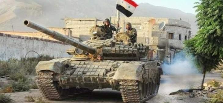 الجيش السوري يوسع سيطرته في محيط خان شيخون بريف إدلب