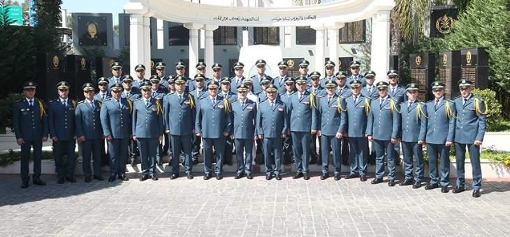 حفل تخريج رتباء من الجيش تابعوا بنجاح الدورة التأهيلية لرتبة ملازم
