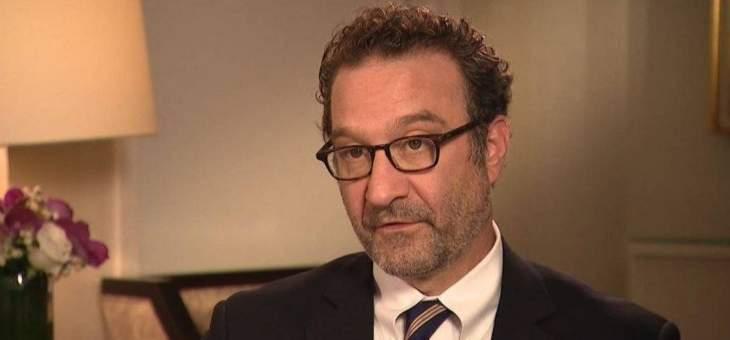 شينكر: لا مخطط للمجيء إلى لبنان قريبا والعقوبات الأميركية قد تطال بعض حلفاء حزب الله