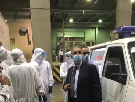 وصول جثمان الطبيب وليد سويد الى مطار بيروت
