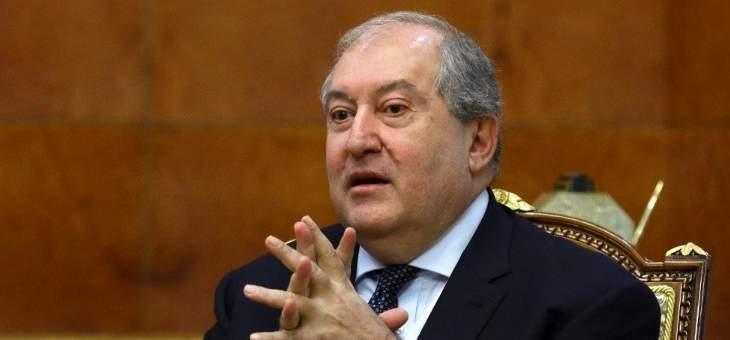 مكتب سركيسيان: مستعد لجمع كل القوى في أرمينيا حول طاولة المفاوضات