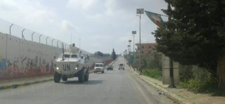 النشرة: مراقبو الامم المتحدة تفقدوا الخط الأزرق مستقلين مروحية لليونيفيل