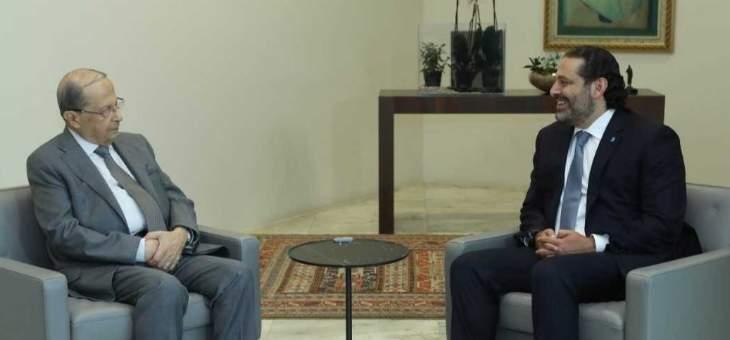 استنفار عون والحريري لعقد جلسة خلال ساعات وفي الخلفية بيان السفارة الأميركية