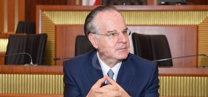 عدوان حذر من إسقاط عملية التدقيق الجنائي في مصرف لبنان