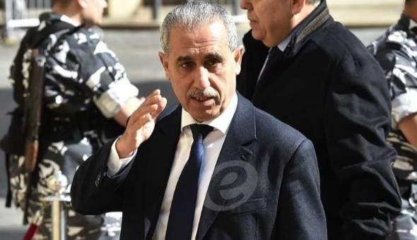 خواجة: لتسريع تنفيذ مقررات لقاء بعبدا الاقتصادي لا سيما الاصلاحية منها