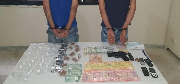الشرطة القضائية توقف بالجرم المشهود مروجَين ينشطان بين منطقتي جونية وحالات