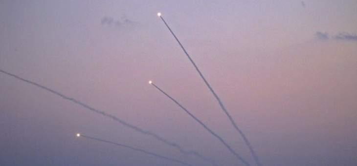 وسائل إعلام اسرائيلية: إطلاق 4 صواريخ من قطاع غزة باتجاه إسرائيل