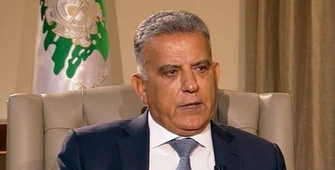 مصدر للشرق الأوسط: إبراهيم نقل إلى باسيل حرفية الموقف الفرنسي ناصحا إياه بالتعاون