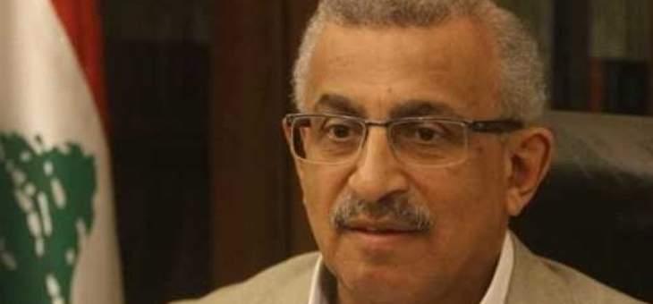 اسامة سعد: معا لانقاذ لبنان من الانهيار