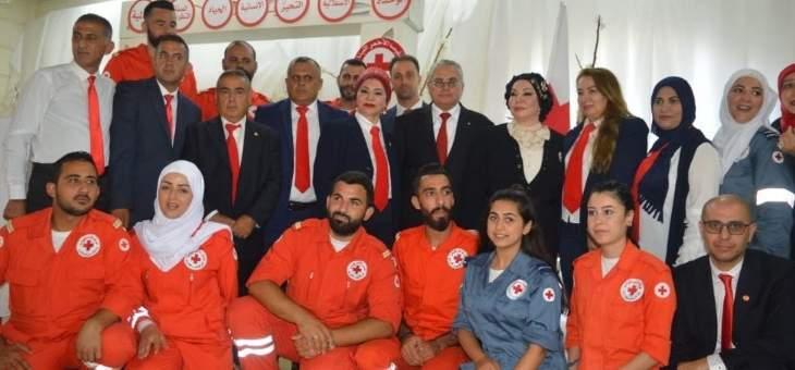 الغداء السنوي لفرع الصليب الأحمر اللبناني في الزهراني