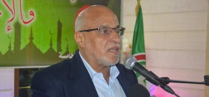 خليل حمدان: التمسك بخيار المقاومة ضرورة لدرء الأخطار المحدقة