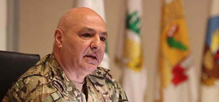 مقربون من قائد الجيِش:لا يفكر بالرئاسة وما يُشاع في هذا المجال هو من نسج الخيال