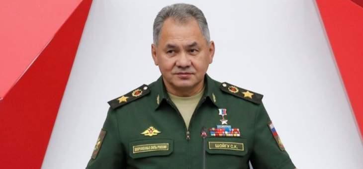 شويغو: روسيا طوّرت 300 نوع من الأسلحة المختلفة بعد استخدامها في سوريا