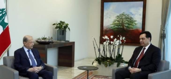 الرئيس عون: لبنان ملتزم القرار 1701 والمحافظة على الاستقرار والامن في المنطقة الحدودية