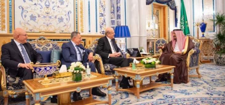MTV: زيارة رؤساء الحكومات الاسبقين للسعودية تؤكد استمرار دعم الرياض للبنان