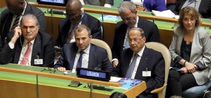 مصدر للشرق الاوسط:تلويح عون بالتفاوض مع نظام سوريا لن يلقى معارضة