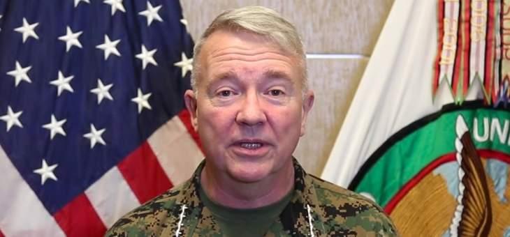 الجنرال ماكنزي اتصل بقائد الجيش: سيتم تسليم 3 شحنات من إمدادات الإغاثة الأميركية