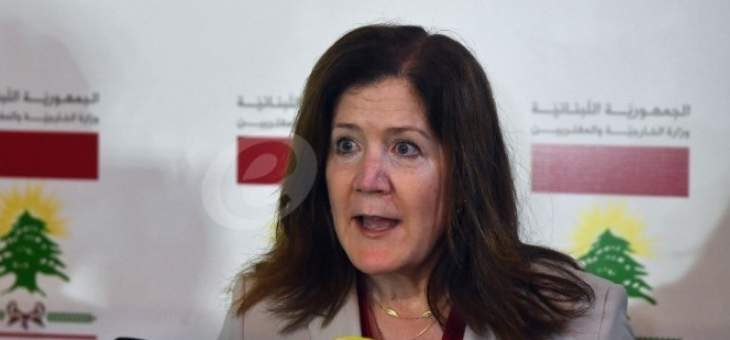 السفيرة الأميركية: اغتيال لقمان سليم بربري ونؤكد ضرورة إجراء تحقيق سريع بهذه الجريمة