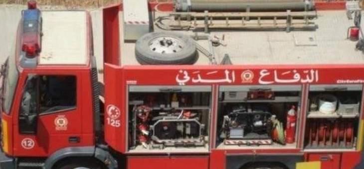 إنقاذ مواطنة حاصرتها النيران داخل منزلها في شكا